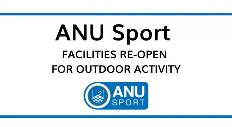 Facilities Re-Open Outdoors